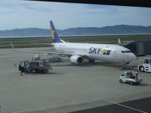 スカイマーク機(B737-800)