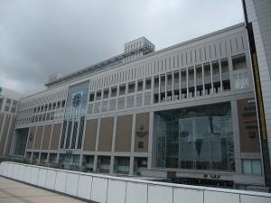 エスタから見る札幌駅