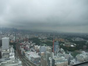 JRタワーから見る札幌市街