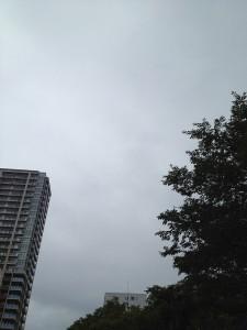 大通公園からの空