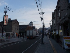 小樽・堺町通り1
