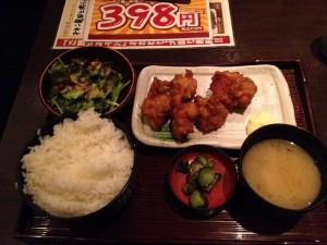 「鶏よ魚よ パセオ店」からあげ定食