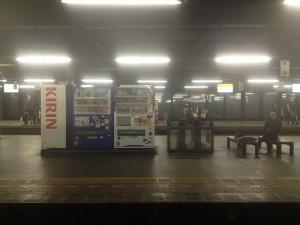 札幌駅通過