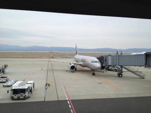 関空からJetstar★機に搭乗