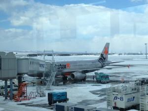 新千歳空港のJetstar★機