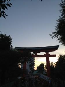 尼崎えびす神社鳥居