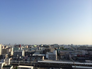札幌行き(201405)出発の朝