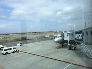 札幌行き(201405)新千歳到着