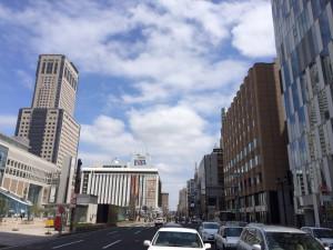 札幌行き(201405)札幌駅降りる