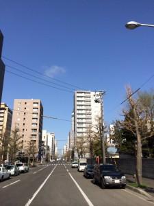 札幌行き(201405)札幌散策