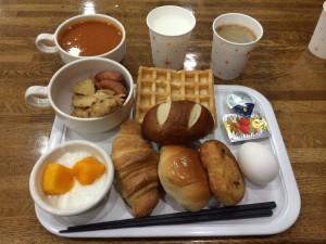 札幌行き(201405)3日の朝食