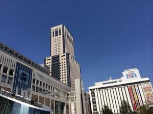 札幌行き(201405)札幌駅南口