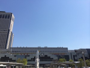 札幌行き(201405)札幌駅北口