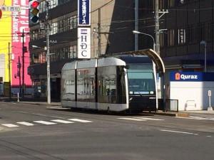 札幌行き(201405)LRT?