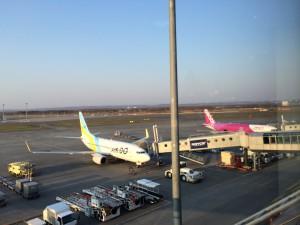 札幌行き(201405)新千歳空港