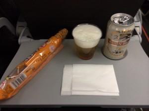 札幌行き(201405)帰りの機内食(笑