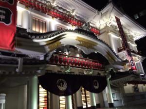 東京行き(201405)銀座・歌舞伎座