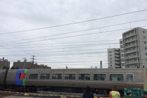 苗穂駅の踏切2